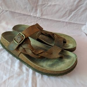 Women's Crawford Leather Footbed Sandal